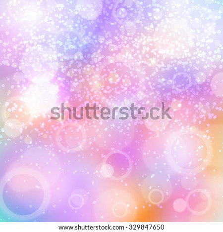 New Year's color shining background. Christmas bright background with shining effect. Background for card. Blured background. Lighting effect. Bright Christmas background. Festive background. New year - stock vector