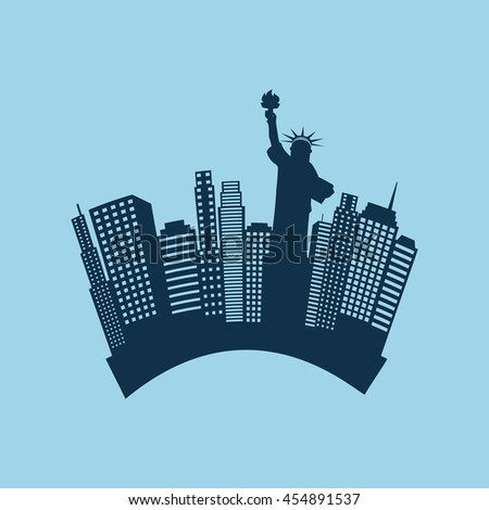 new york city design, vector illustration eps10 graphic