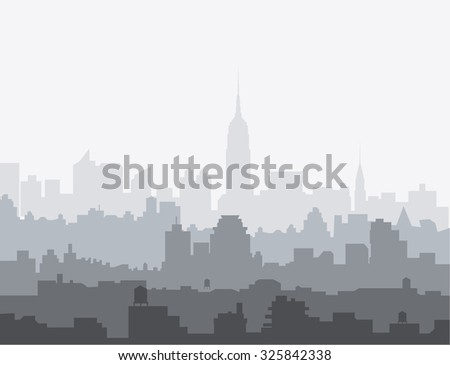 New York City Morning Skyline