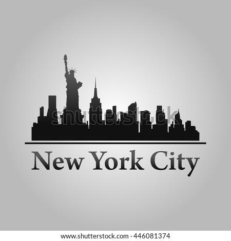 new york city skyline detailed silhouette stock vector new york city victorian tile new york city victoria secret