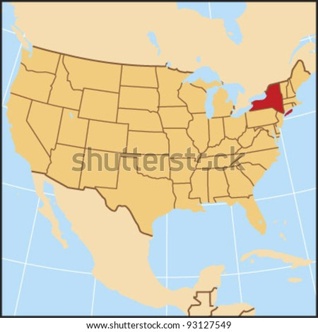 New York Locate Map