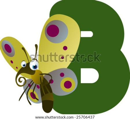 Newest ABC animals: B is for Butterfly