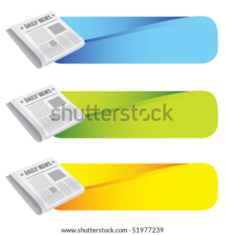 newspaper colored tabs