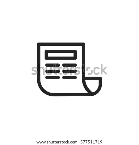newspaper vector icon news symbol modern stock vector 577511719 rh shutterstock com newspaper victoria bc newspaper victory 1945