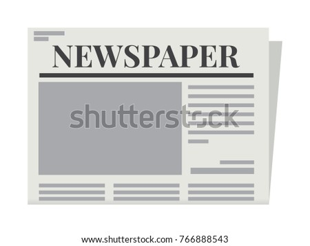 Newspapers Template Vector Stock Photo Photo Vector Illustration