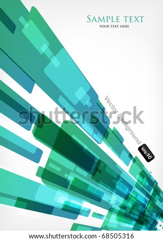 Nice abstract modern background - stock vector