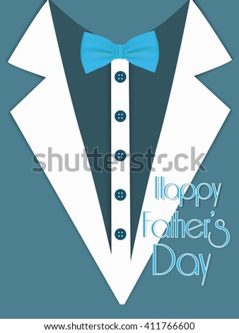 nice and beautiful vector abstract for Happy Father's Day with nice illustration in a background.