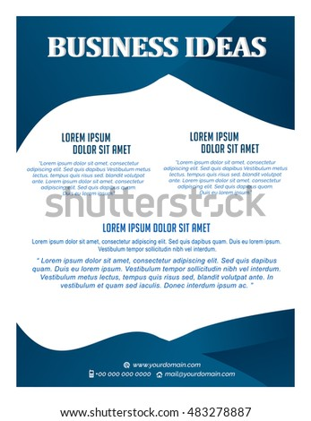nice and creative vector cover design templates for business with nice and beautiful design templates illustration.