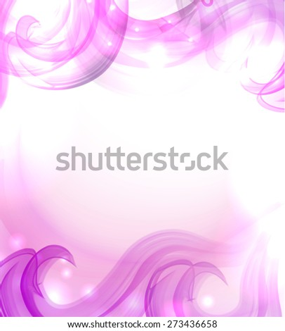 Nice bright glow - stock vector