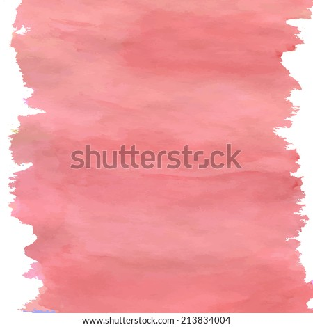 how to make peach color watercolor