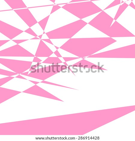 nice pink background - stock vector