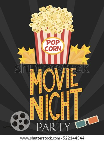 Night At The Movies Stock Images Royalty Free Images
