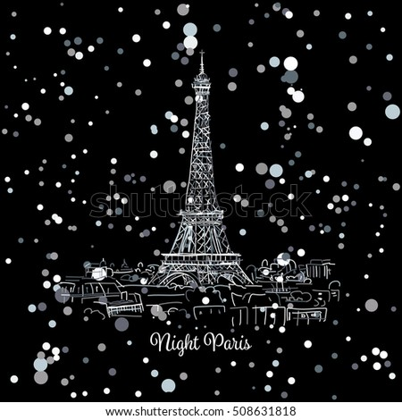 Eiffel Tower Cartoon Stock Images Royalty Free Images Vectors Shutterstock