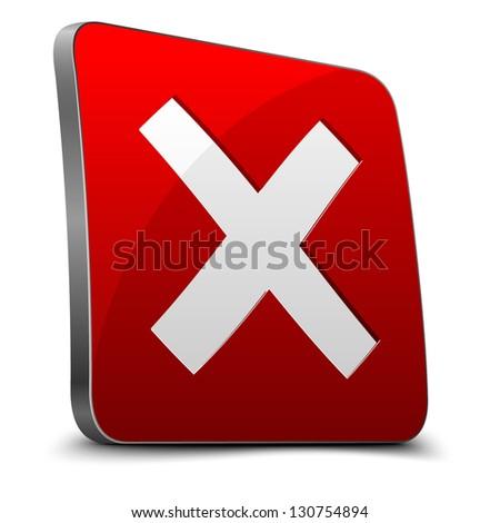 No button - stock vector