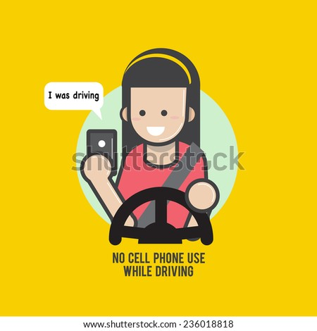 no cell phones while driving Texting behind the wheel ups odds of a crash by 8 percent, while talking on a   yes, using a cell phone while driving is still dangerous.