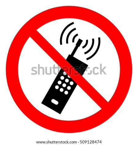 No Cell Phone Sign Stock Images, Royalty-Free Images & Vectors ...