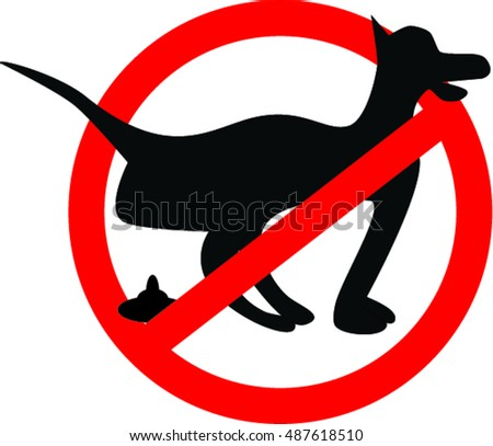 No Dog Poop Sign Stock Images, Royalty-Free Images & Vectors ...