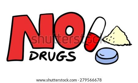 Drugs Stock Vectors