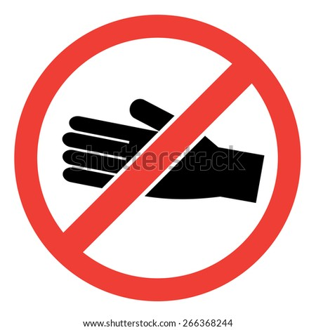 No entry sign. vector illustration