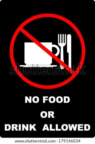 no food - stock vector