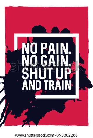 No Pain No Gain Stock Images, Royalty-Free Images & Vectors  Shutterstock