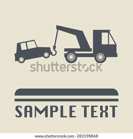 No parking icon or sign, vector illustration - stock vector