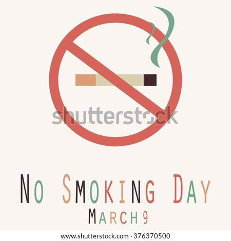 No Smoking Day - Funny Unofficial Holiday Collection - 154