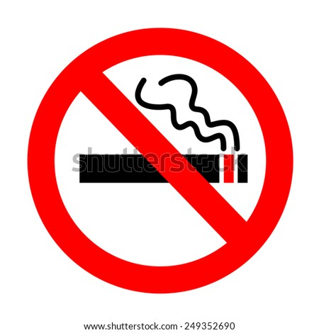 No smoking sign.vector