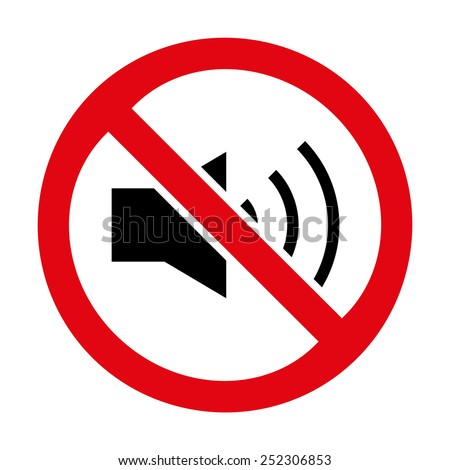 No Sound icon great for any use. Vector EPS10.