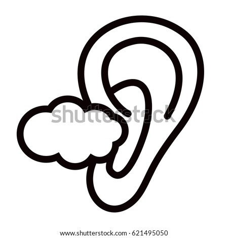 noise cancelling deaf ear i cant hear you sign