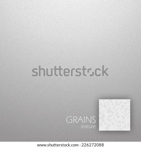 Noise detail grains texture in gray color vector illustration - stock vector