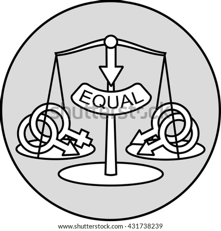 Nontraditional Marriage Equality Concept Sign Gay Stock Photo Photo