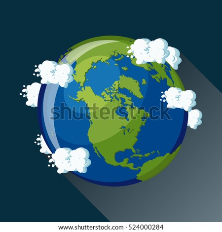 Concept Design World Map Animals All Stock Vector 403555981 ...
