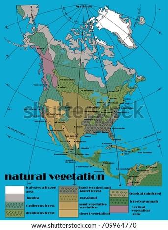 North America Year Rainfall Stock Vector 708516859 Shutterstock