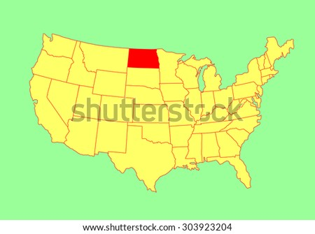 Oklahoma State Usa Vector Map Isolated Stock Vector - Indiana state usa map