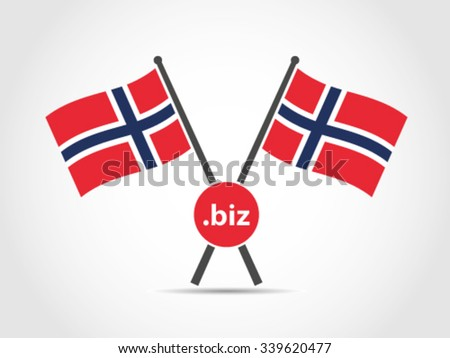 Norway Emblem Flag Business