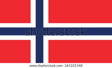 norway Flag for Independence Day and infographic Vector illustration. - stock vector