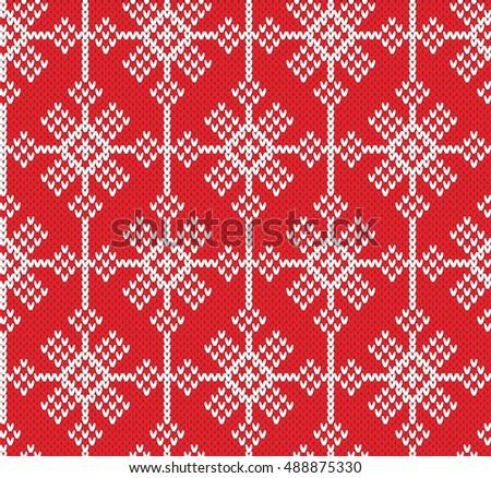 Snowflake Knit Pattern Gallery Knitting Patterns Free Download