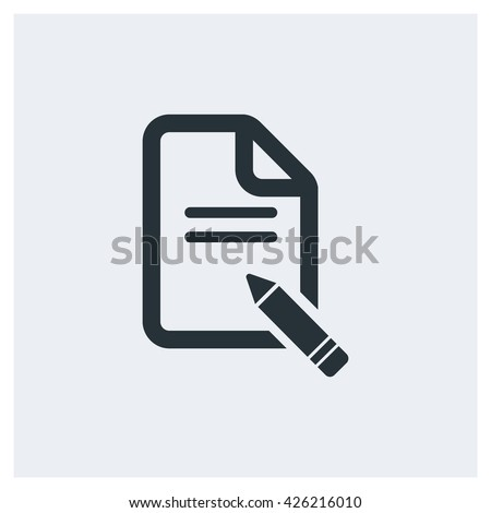 note Icon, note Icon Eps10, note Icon Vector, note Icon Eps, note Icon Jpg, note Icon Picture, note Icon Flat, note Icon App, note Icon Web, note Icon Art, note Icon Object - stock vector
