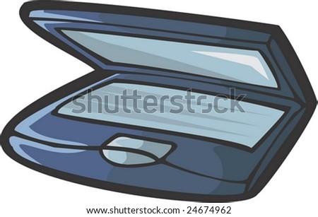 Notebook - stock vector