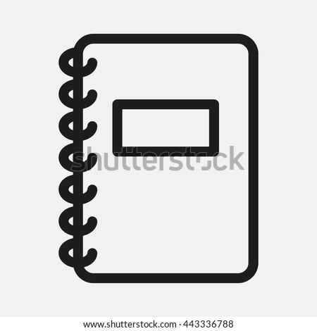 Notebook Icon, Notebook Icon Eps10, Notebook Icon Vector, Notebook Icon Eps, Notebook Icon Jpg, Notebook Icon, Notebook Icon Flat, Notebook Icon App, Notebook Icon Web, Notebook Icon Art, Notebook - stock vector