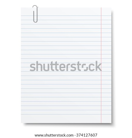 LinedPaper Stock Photos RoyaltyFree Images  Vectors  Shutterstock
