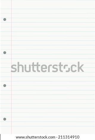 NOTEBOOK LINED SHEET BACKGROUND