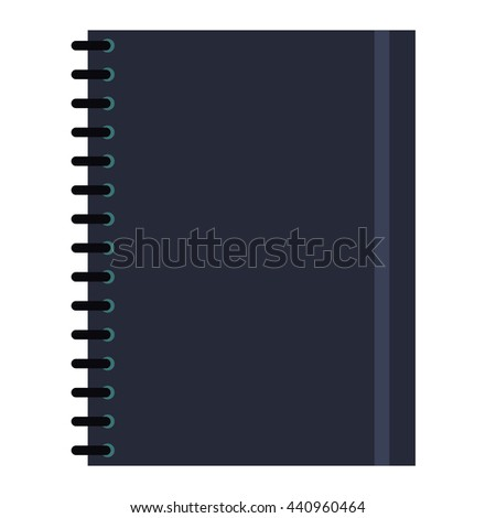 notebook , Vector illustration