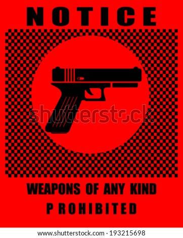 Notice Plate For Safety - stock vector