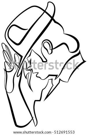 Michael jackson hat pose drawing for Michael jackson billie jean coloring pages