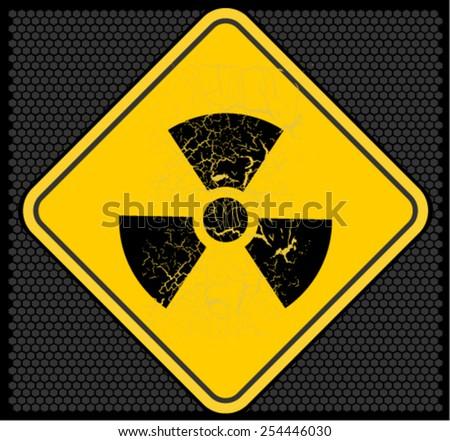 nuclear - stock vector
