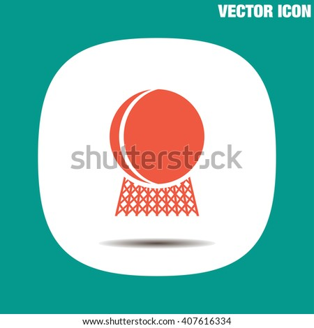 Nuclear Power Plant vector icon