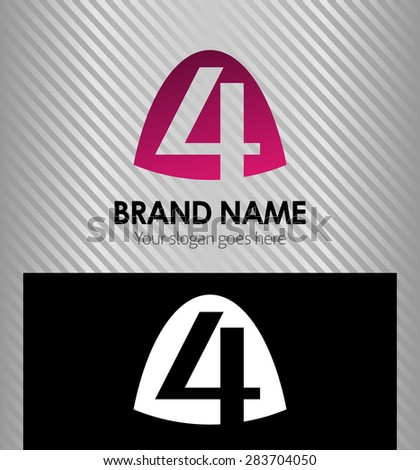 letter h logo alphabet logotype vector stock vector 292865276