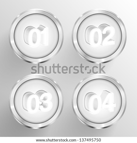 Numbered circle templates